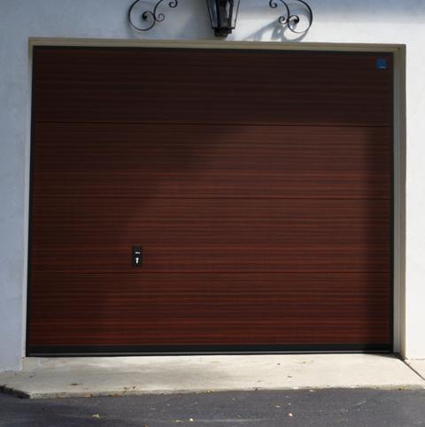 Гаражны ворота NICE в кольорі - Махогон (2097013-167)